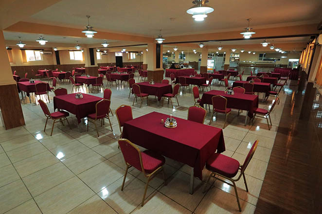 DFAC spacious Dining Facility at Daryavillage Hotel