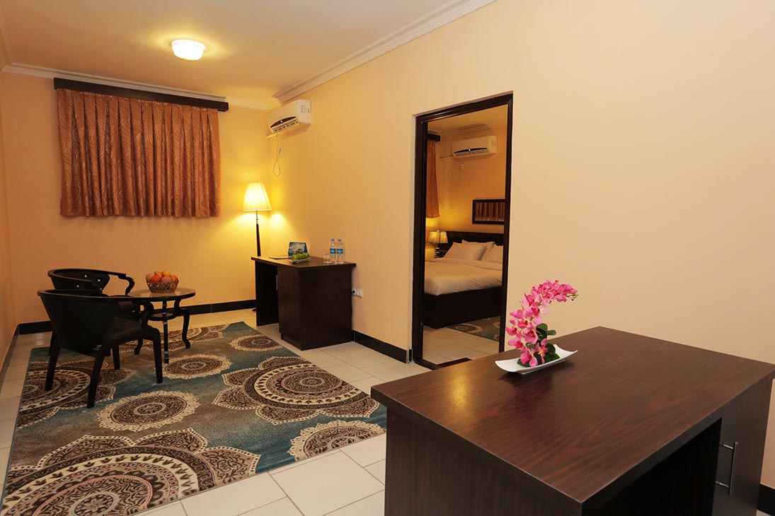Deluxe Suite Rooms at Daryavillage Hotel and Business Park