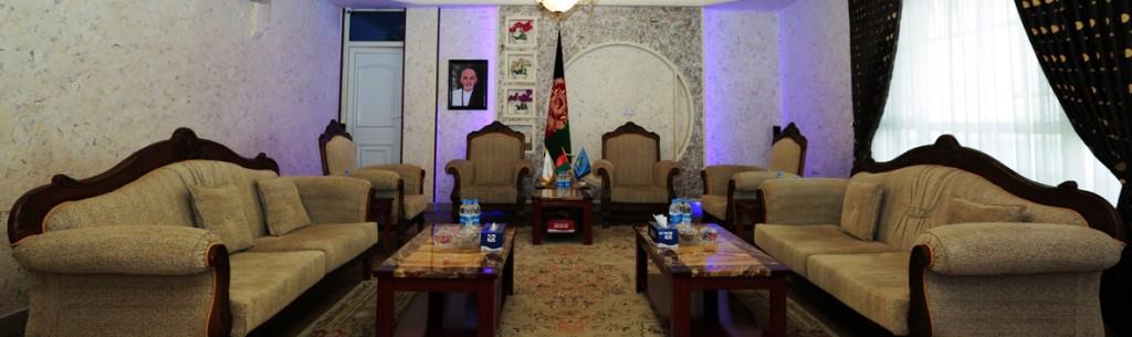 Elegant Boardroom for VIP Meetings