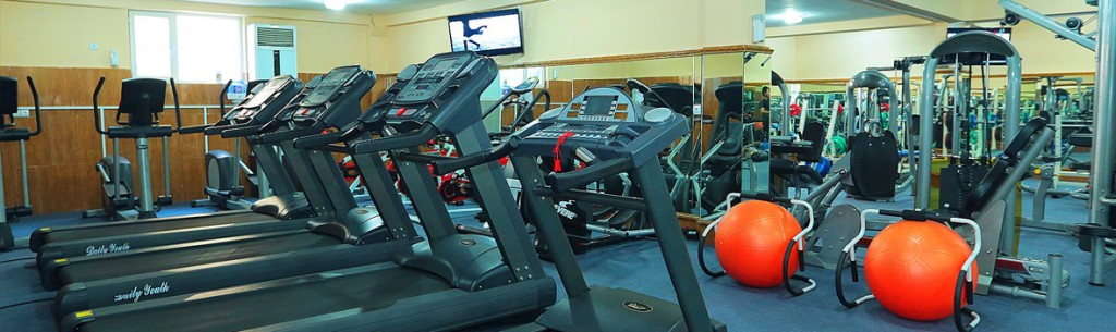 State-of-the-art Gym, Sauna & Steam Room