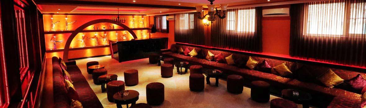 Relaxing Shisha Lounge at Kabul Buddha Bar