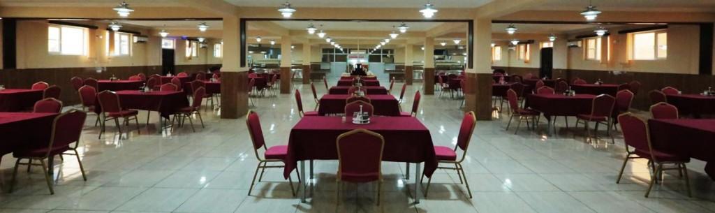 Spacious Dining Facility at Daryavillage Hotel
