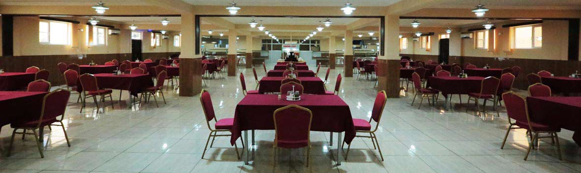 Spacious Dining Facility at Daryavillage Hotel