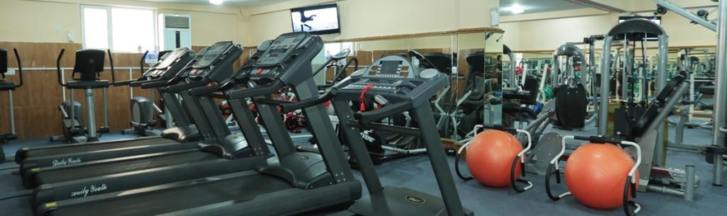 State-of-the-art Gym, Sauna & Steam Room